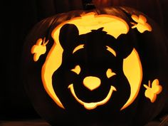 winnie the pooh pumpkin carving templates - 1000 images about halloween on pinterest minecraft