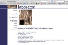 """F.LLI GALEOTTI - Enrico Galeotti, Nadia ed Almo Pierini, contitolari dell'azienda, ex allievi dell'Istituto Statale d'Arte """"Stagio Stagi"""" di Pietrasanta (Lu)."""