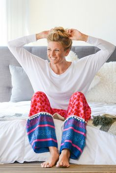 The Pinky-print Punjammies® are ethically-made loungewear with playful  medley of 42852bf74
