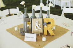 Deko: superschön eingewollte Buchstaben :)  Nashville Wedding Photographers | Ulmer Studios