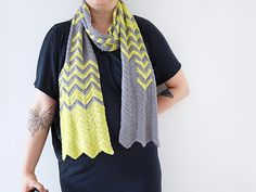 Ravelry: Maya Chevron Scarf pattern by Nicki Hirsch
