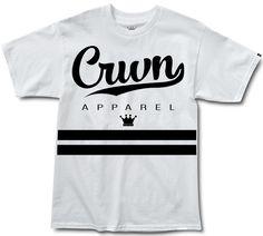 CRWN Life - White/Black