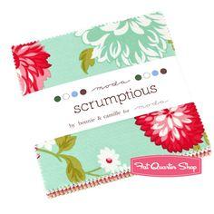 Scrumptious+Charm+Pack+Bonnie+&+Camille+for+Moda+Fabrics