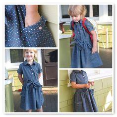 La petite robe de la rentrée : Oliver + S Jump Rope dress.