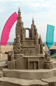 sand castles | How to make amazing sand castles -- Boys Life magazine