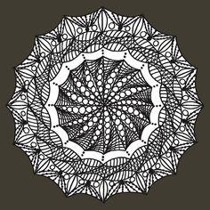 'Kaleidoscope' T-Shirt by jhnette Tshirt Colors, Wardrobe Staples, Female Models, Heather Grey, Classic T Shirts, Patterns, Fabric, Mandalas, Block Prints
