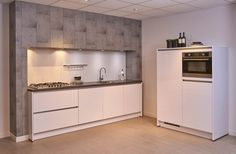 Moderne keuken, kast