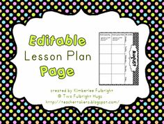 Two Fulbright Hugs ~ Teacher Time Savers: back to school