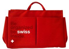 The coucou bag organizer will help you to keep your stuff under control.