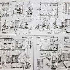 #sketch #guestrooms #hostel #interiordesign