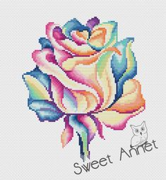 Most current Absolutely Free Cross Stitch designs Suggestions Flowers cross stitch pattern Rose cross stitch Easy cross Easy Cross Stitch Patterns, Cross Stitch Borders, Simple Cross Stitch, Cross Stitch Flowers, Modern Cross Stitch, Cross Stitch Kits, Cross Stitch Designs, Cross Stitching, Cross Stitch Embroidery