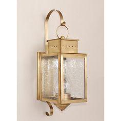 Outdoor lighting fixtures wall lantern antique copper Ideas for 2019 Brass Outdoor Lighting, Outdoor Sconces, Outdoor Light Fixtures, Outdoor Wall Lantern, Outdoor Walls, Coastal Lighting, Classic Lanterns, Wall Fixtures, Antique Copper