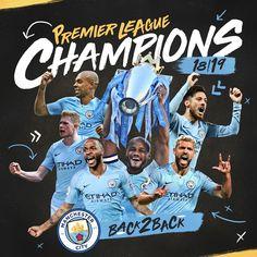 Manchester City are Premier League Champions 💙💙💙 Pep Guardiola, Brighton, Liverpool, Aubameyang Arsenal, Manchester City Wallpaper, Zen, Hazard Chelsea, John Stones, Pierre Emerick