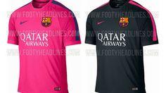 Posible diseño de la camisetas del barcelona para la temporada 2014-2015???