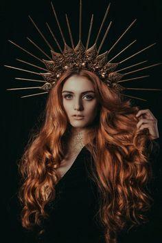 Fantasy Photography, Portrait Photography, Madonna, Modeling Fotografie, Looks Party, Braut Make-up, Renaissance Fair, Metal Flowers, Duchess Kate