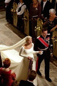 Wedding of Haakon, Crown Prince of Norway and Mette-Marit Tjessem Hoiby