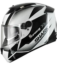 Shark Speed-R Tanker black/white