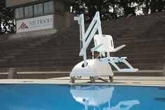 PAL Pool Lift at Outdoor Swimming Pool