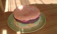 hamburger csokitorta Hamburger, Ethnic Recipes, Food, Essen, Burgers, Meals, Yemek, Eten