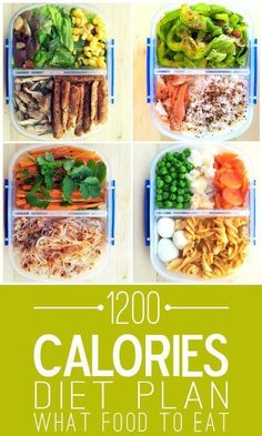 awesome 1200 Calories Diet Plan - What Foods To Eat?