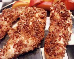 Featured Recipe: Quinoa-Crusted Chicken Fingers