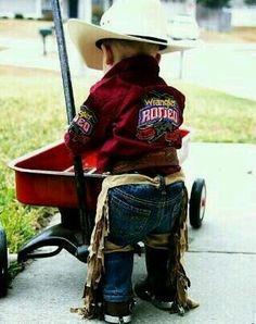 My future cowboy!