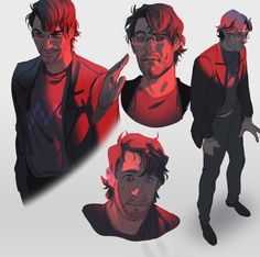 learned about Darkiplier and had a field day