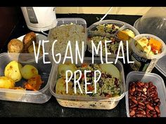 In this video, I'm showing you guys an example of a meal/food prep I would do once a week or so, in order to stay on track for the week. This saves a lot of ...