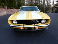 2/9/2015 - Stock #1295 - From Old Town Automobile, a 1969 Camaro - recently restored solid, rust-free southern car, 350/350HP, autoc trans with 2,500 stall converter, aluminum drive shaft, 12 bolt, 336 rear, PS, PDB, Hotchkis sway bars & lowering springs, headers with Flowmaster exhaust system, new interior with factory tachometer in dash...Video and lots more pics at   http://www.oldtownautomobile.com/da-vehicles/?path=/183/1969-Chevrolet-Camaro