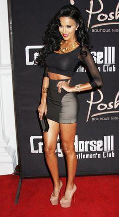 Lilly Ghalichi hosts a night at Posh Nightclub