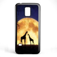 Giraffes Romantic Moon TATUM-4673 Samsung Phonecase Cover Samsung Galaxy S3 Mini Galaxy S4 Mini Galaxy S5 Mini