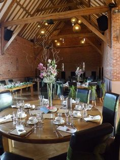 Southwood hall bare tables