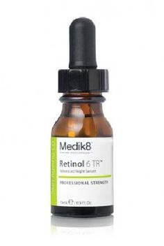Medik8 Retinol 6 TR 15ml Light super-fast absorbing vitamin A serum that rejuvenates skin at its most optimal time at night. Contains 0. 6% retinol supported by vitamin E for significantly enhanced stability as compared to ot http://www.MightGet.com/january-2017-11/medik8-retinol-6-tr-15ml.asp