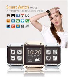 Cost-effective smartwatch PW305 ! A great companion for Android phones!!! https://wish.com/c/53cb6baf46188e635231062d