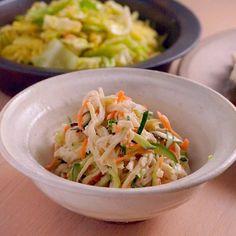 煮ものだけじゃない!ポリポリ食感がおいしい切り干し大根のサラダのつくり方  |  あさこ食堂