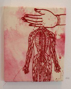 'Art of memory-hand' - Seet van Hout .  Click to enlarge