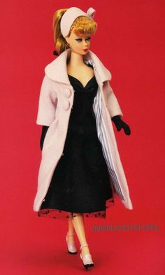 """Style Book of Doll Dresses by Kate Mitsubachi ~ Japanese Handmade Sewing Pattern Book for Barbie doll #4"" by JapanLovelyCrafts 