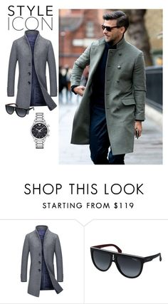 """""""Be in trend"""" by eldar92 ❤ liked on Polyvore featuring Carrera, Emporio Armani, men's fashion and menswear"""