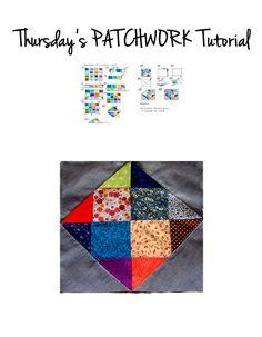 #patchwork #quilt #bloc #tutorial