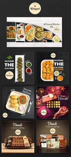 Trupti Food Social Media on Behance