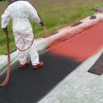 Polymeric Structural Spray Running Track