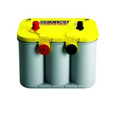 Optima Batteries 8014-045 D34/78 YellowTop Dual Purpose Battery 12-Volt, 750 Cold Cranking Amps, Size: 10 x 6 7/8 x 7 13/16 tall, Weight: 43.5 pounds, Dual SAE & GM Post. Reserve capacity of 120 minutes for constant performance. Optimal starting power even in bad weather. Fifteen times more resistant to vibration for durability. This item is not for sale in Catalina Island.  #Optima #AutomotivePartsAndAccessories
