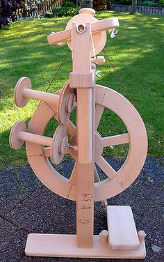 REISE Spinnrad MERINO, ZWRINSATZ, 3 SPULEN, spinnfähig, Wolle spinnen, Np. 278 € | eBay