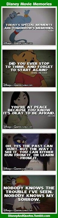 Disney Movies Are So Wise!! <3