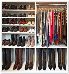 Delightful Exclusive: Jaime King Gets A Dream Closet Makeover | Boot Storage, Storage  And Organizations