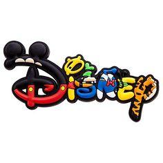 disney logo   Disney Magnet - Mickey Mouse and Friends Disney Logo