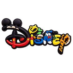 disney logo | Disney Magnet - Mickey Mouse and Friends Disney Logo