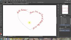 I will be showing your a fast and easy way shape your text around any image or object. I will be using the pen tool and text tool for. Text Tool, Photoshop Tutorial, Typography Design, Hand Lettering, Light Bulb, Wraps, Tutorials, Image, Type Design