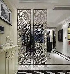 Ideas Divider Screen Design Small Spaces For 2019 Small Space Living Room, Small Spaces, Room Divider Screen, Room Dividers, Plafond Design, Partition Design, Divider Design, Luxury Rooms, Interior Decorating