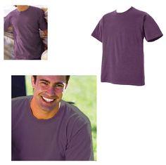 Pigment Dyed Purple T-Shirt